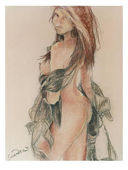 Standing Nude 1 by Sciandra