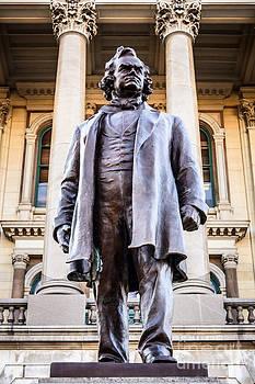 Paul Velgos - Stephen A. Douglas Statue in Springfield Illinois