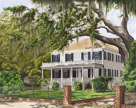Stephen Bull House Beaufort SC by Richard Devine