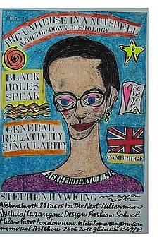 Stephen Hawking by Francesco Martin