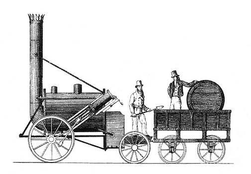 Science Source - Stephensons Rocket 1829
