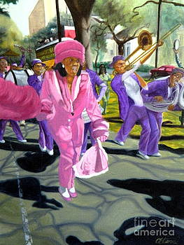 Steppin' on St. Charles by Clifford Etienne