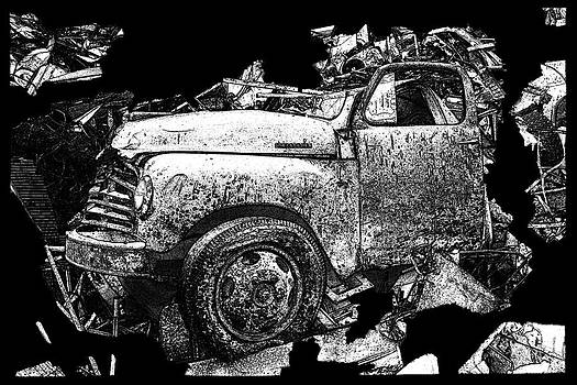 Steudebaker Truck by Linda Fowler