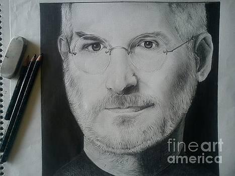 Steve Jobs Sketch by Ashish Nehe