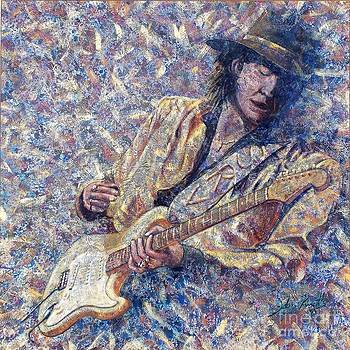 Stevie Ray Vaughn by John Cruse Knotts
