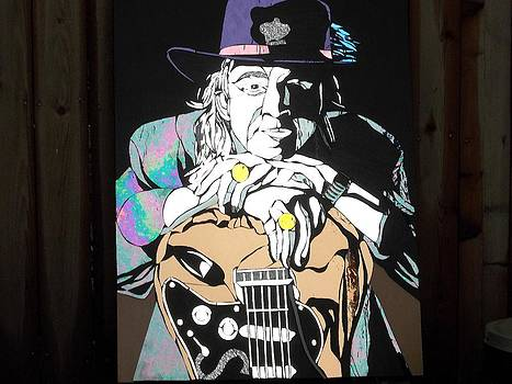 Stevie Ray Vaughan by Tom Runkle