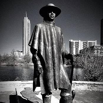 Stevie Ray Vaughn by Richard Reens