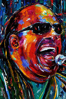 Stevie Wonder by Debra Hurd