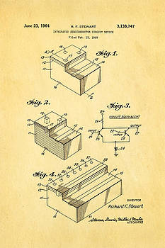 Ian Monk - Stewart Integrated Circuit Patent Art 1964