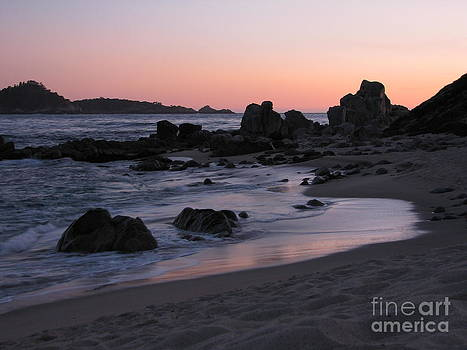 Stewart's Cove at Sunset by James B Toy