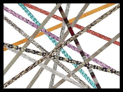 Sticks of Fabric by George Landers