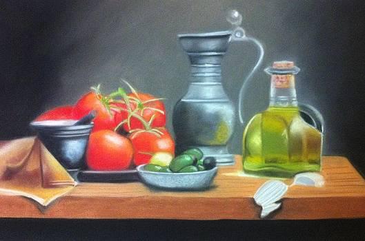Still life 14 by Graciela Scarlatto