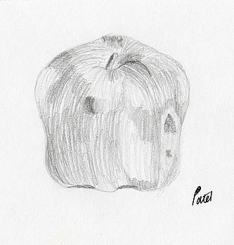 Still Life - Apple by Bav Patel