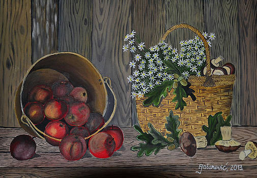 Still Life - apple by Ferid Jasarevic