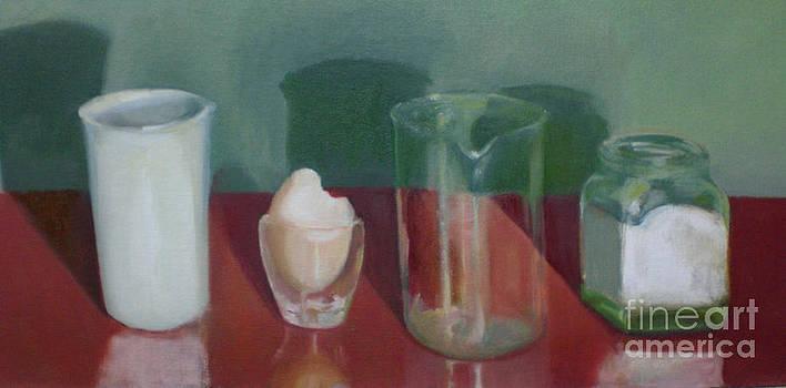 Still Life Glass    copyrighted by Kathleen Hoekstra