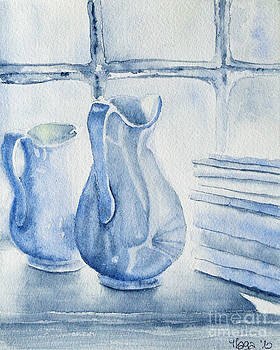 Still life in white by Marisa Gabetta