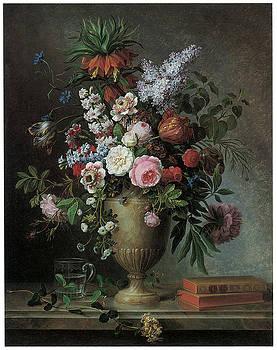 Louis Tessier - Still Life of Flowers