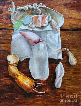 Still life with a swimming bladder by Martin Stratiev