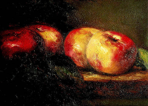 Still life with Apples by Mary Elizabeth White