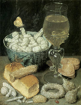 Georg Flegel - Still Life with Bread and Confectionery