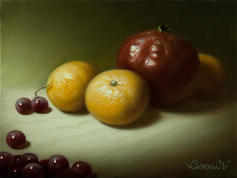 Still Life with Clementines by Eric Bossik