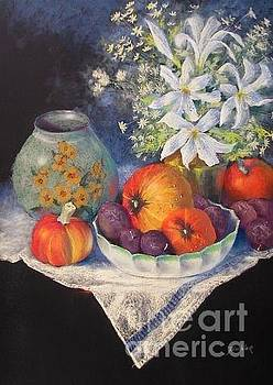 Julia Blackler - Still Life With Cuban Vase