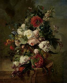 Harmus Uppink - Still Life With Flowers