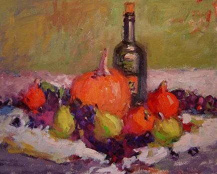 Still life with frog by R W Goetting