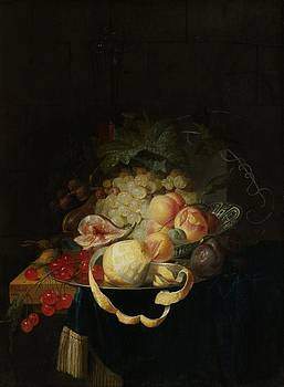 Johannes Hannot - Still Life With Fruit