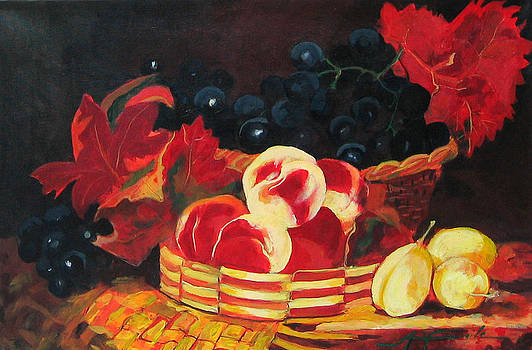 Still life with fruits by Adriana Vasile