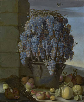 Luca Forte - Still Life with Grapes and other Fruit