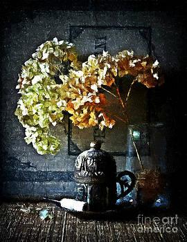 Still life with hydrangea by Binka Kirova