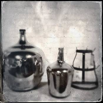 Still Life With Jars And Something Else by Paul Cutright