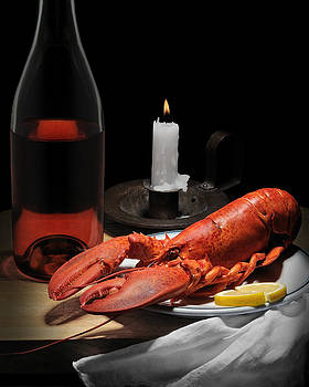 Still Life with Lobster by Krasimir Tolev