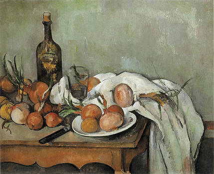 Paul Cezanne - Still Life with Onions