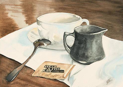 Still Life with Sugar by Masha Batkova