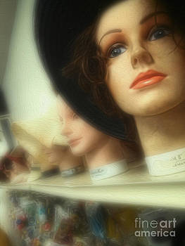 Gregory Dyer - Still Life with Wig Heads