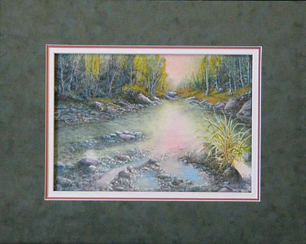 Still waters  140106-913 by Kenneth Shanika