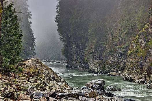 Stilliguamish River by Jason Fortenbacher