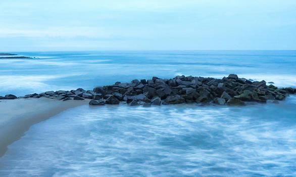 Stillness Over the Ocean by Alina Marin-Bliach