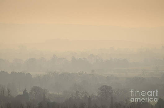 Stillness over the Oxfordshire countryside by OUAP Photography