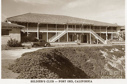 California Views Mr Pat Hathaway Archives - Stilwell Hall Soldiers Club Fort Ord Army Base Monterey Calif. 1950