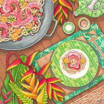 Stir Fry  by Tammy Yee