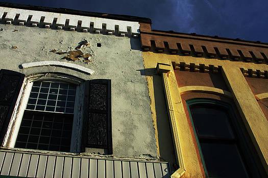 Karol Livote - Stitched Buildings