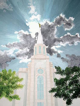 St.Louis Temple by Amber Whiting Bradley