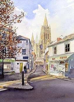 St.Marys Street Truro by Margaret Merry