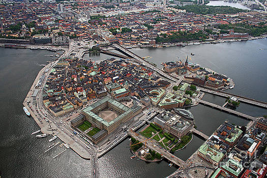 Stockholm Aerial View by Lars Ruecker