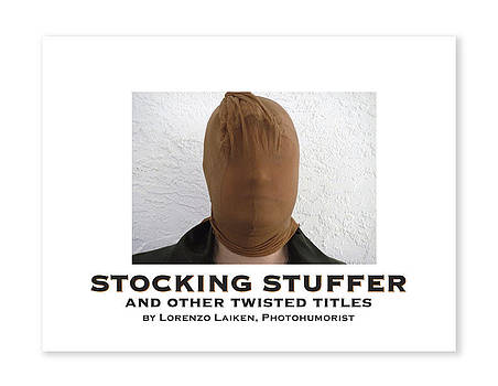 STOCKING STUFFER Book Cover by Lorenzo Laiken