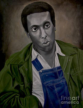 Stokely Carmichael aka Kwame Toure by Chelle Brantley