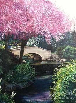 Stone Bridge at Niagara Falls by Michael John Cavanagh